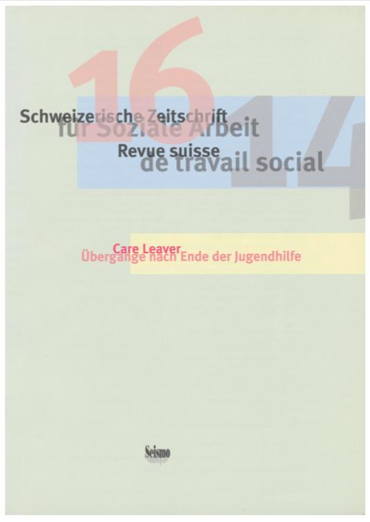 View No. 16 (2014): Schweizerische Zeitschrift für Soziale Arbeit / Revue suisse de travail social