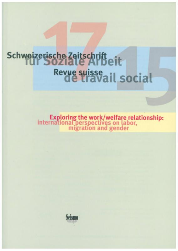 View No. 17 (2015): Schweizerische Zeitschrift für Soziale Arbeit / Revue suisse de travail social