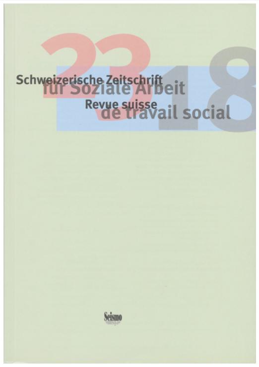 View No. 23 (2018): Schweizerische Zeitschrift für Soziale Arbeit / Revue suisse de travail social