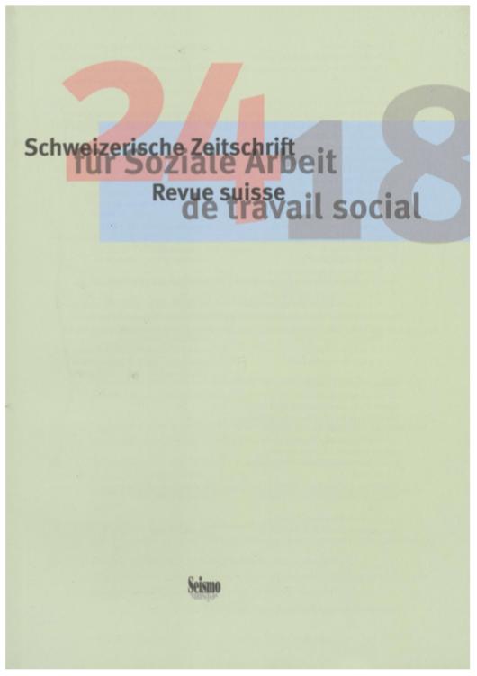 View No. 24 (2018): Schweizerische Zeitschrift für Soziale Arbeit / Revue suisse de travail social