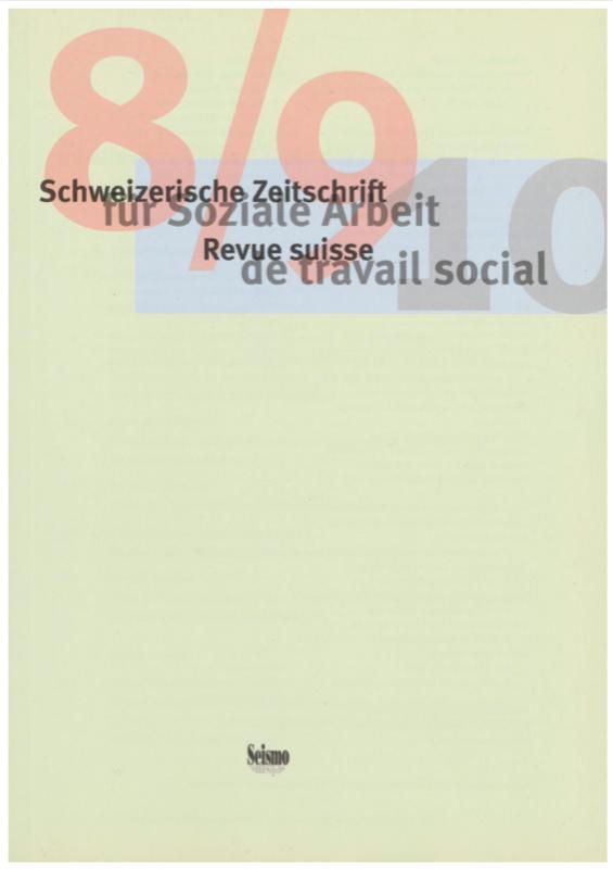View No. 8-9 (2010): Schweizerische Zeitschrift für Soziale Arbeit / Revue suisse de travail social